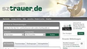 SZ-trauer.de